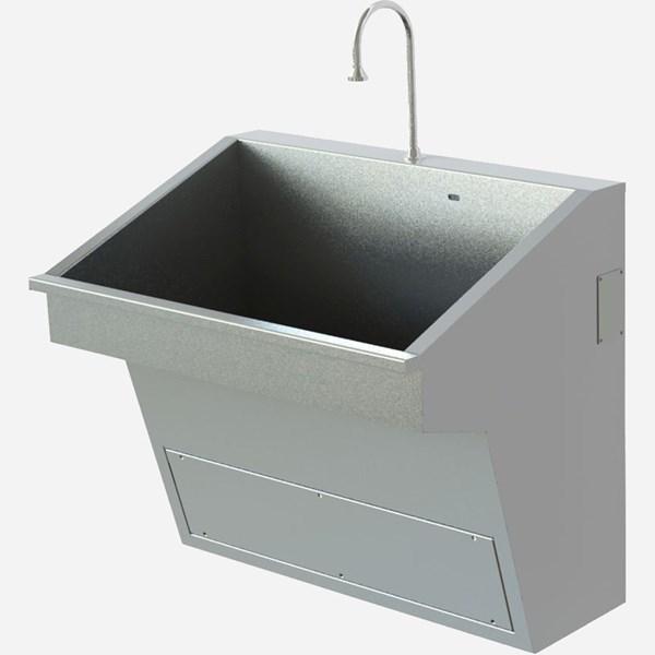 Compact One Station Scrub Sink Ada Compliant Whitehall