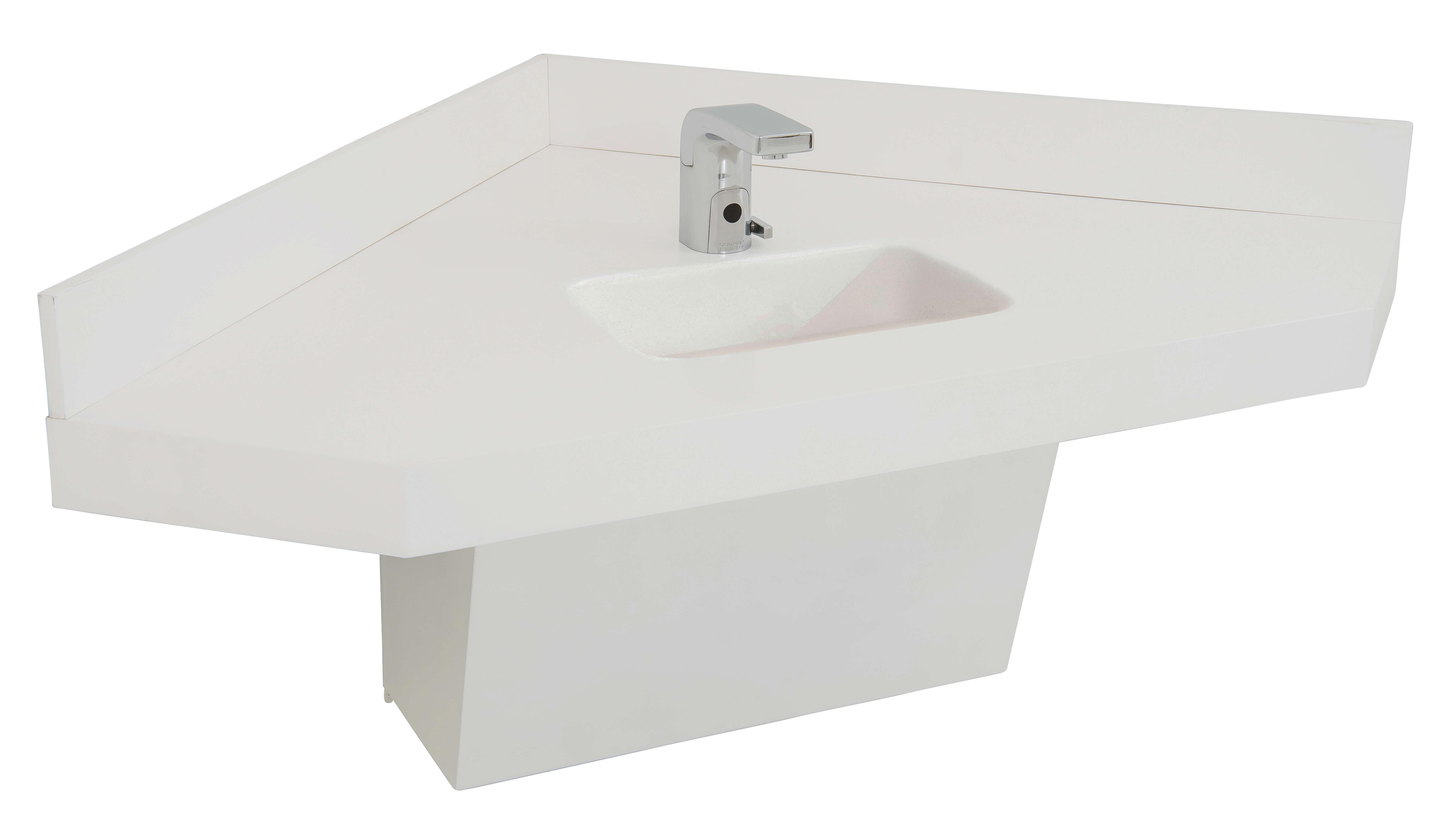 ada corner sink