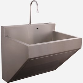 One Station Compact Scrub Sink