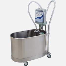 15 Gallon Podiatry Whirlpool - Mobile with Handle