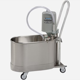 10 Gallon Podiatry Whirlpool - Mobile with Handle and Separate Drain Pump