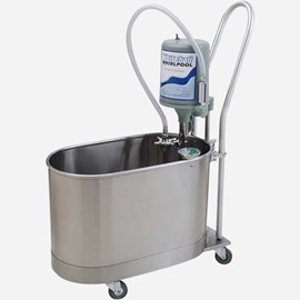 15 Gallon Extremity Whirlpool - Mobile with Handle and Separate Drain Pump