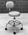 Adjustable Low Stool