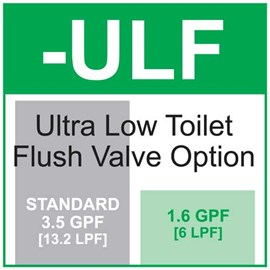 Ultra Low Toilet Flush Valve (1.6 GPF)