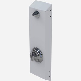 Surface Mount Ligature Resistant Shower