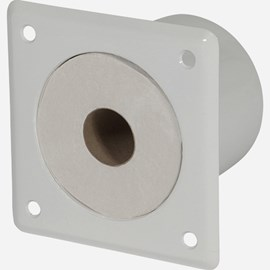 Recessed Toilet Paper Holder (Circular Compartment)