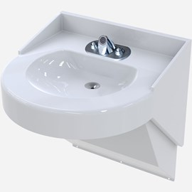 Ligature Resistant Bariatric Stainless Steel Basin