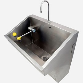 One Station ADA Compliant Compact Scrub Sink