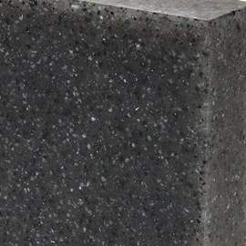 "Option: ""Meteorite""  Corterra® (Cast) Solid Surface"