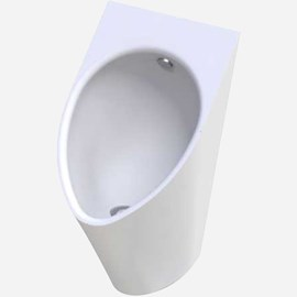 Ligature-Resistant Urinal, High Efficiency, Wall Supply