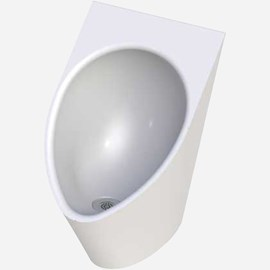 Ligature-Resistant, Waterless Urinal
