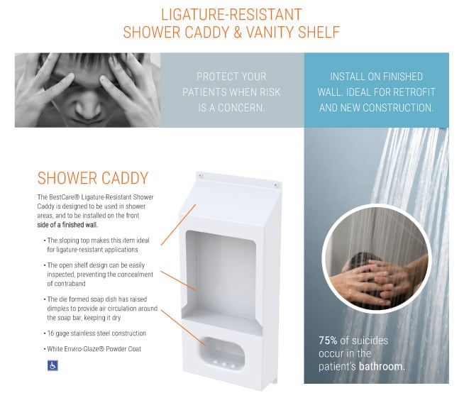 BestCare Shower Vanity Sheet