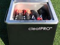 light maximum capacity cleatPRO cleat steamer