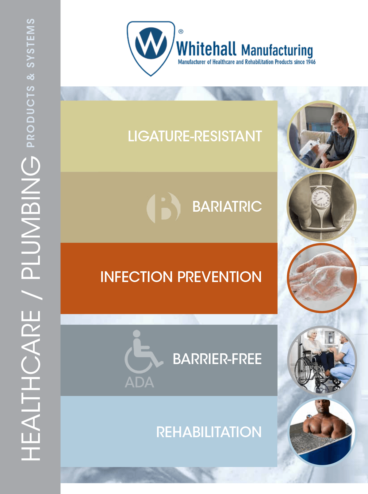 Whitehall Healthcare Brochure Cover